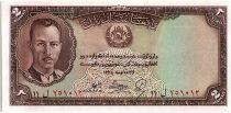 Afghanistan 2 Afghanis Roi Muhammad Zahir - Colossal buddha- 1939