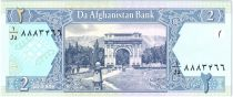Afghanistan 2 Afghanis Victory Arch near Kabul - 2002