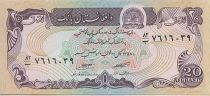 Afghanistan 20 Afghanis Montagne