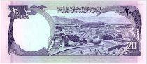 Afghanistan 20 Afghanis Prés. Muhammad Daud - Canal - 1973