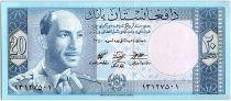 Afghanistan 20 Afghanis Roi Muhammad Zahir - Monument  - 1961