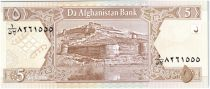 Afghanistan 5 Afghanis Forteresse de Kaboul - 2002