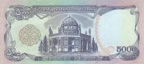 Afghanistan 5000 Afghanis Mosquée - Tombe du Roi Habibullah - 1993