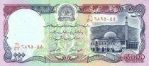 Afghanistan 5000 Afghanis Mosquée - Tombe du Roi Habibullah