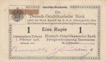 Afrique de l\'Est Allemande 1 Rupee 1916 - Série O3