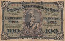 Afrique de l\'Est Allemande 100 Roupies Kaiser Wilhelm II - 1905