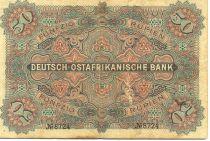 Afrique de l´Est Allemande 50 Roupies Kaiser Wilhelm II - 1905