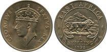 Afrique de l´Est Britannique 1 Schilling George VI - Lion