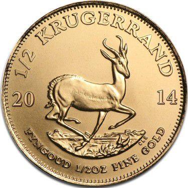 Afrique du Sud 1/2 Kruggerand Paul Kruger - Springbok 2014