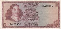 Afrique du Sud 1 Rand ND1973 - Jan Van Riebeek, Paysage, Mouton