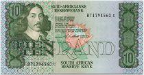 Afrique du Sud 10 Rand 1990-93  - Jan Van Riebeeck - Béliers