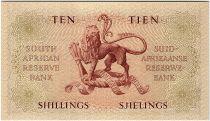 Afrique du Sud 10 Shillings 1958 - Jan Van Riebeeck - Armoirie