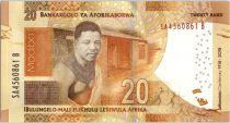 Afrique du Sud 20 Rand - Nelson Mandela - Centenaire Naissance - 2018