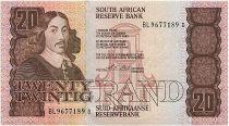 Afrique du Sud 20 Rand 1990-93  - Jan Van Riebeeck - Bateaux