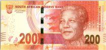 Afrique du Sud 200 Rand - Nelson Mandela - Centenaire Naissance - 2018