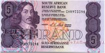Afrique du Sud 5 Rand 1990-94 - Jan Van Riebeeck - Mine