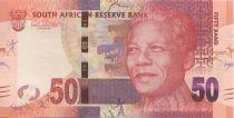 Afrique du Sud 50 Rand Nelson Mandela - Lions