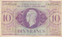 Afrique Equatoriale Française 10 Francs 1944 - Marianne - A. 4,168,635