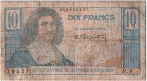 Afrique Equatoriale Française 10 Francs Colbert - 1946 - R.8 20437