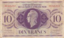 Afrique Equatoriale Française 10 Francs Marianne 1944 - Série FJN 393.383