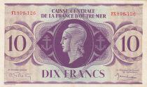 Afrique Equatoriale Française 10 Francs Marianne 1944 - Série FX 898.126 - SUP