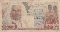 Afrique Equatoriale Française 100 Francs ND1947 - La Bourdonnais - Série C.28