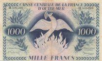 Afrique Equatoriale Française 1000 Francs Phénix - 1944 Série TE 506.299