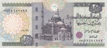 Ägypten 20 Pounds Mosque Mohammed Ali - War chariot - 2001