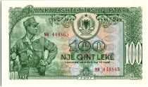Albania 100 Leké Soldier - 1957