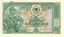 Albania 100 Leké Soldier