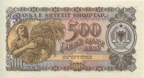 Albanie 500 Leké Moisson