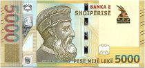 Albania 5000 Leké - Skenderbeu (1405-1468) - 2019 UNC