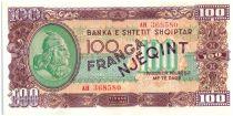 Albanie 100 Franga Skanderbeg