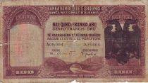 Albanie 100 Franka Ari Ari, Aigle à 2 têtes