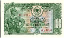 Albanie 100 Leké Soldat - 1957