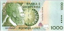 Albanie 1000 Leké - Pjeter BOGDANI (1625-1689) - 1996