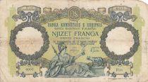 Albanie 20 Franga ND1945 - Femme au sceptre, aigle bicéphale - Série H18