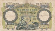 Albanie 20 Franga ND1945 - Femme au sceptre, aigle bicéphale - Série I11