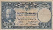 Albanie 20 Leke ND1926 - Jeune garçon, paysage - F 84049