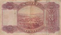 Albanie 20 Leke ND1926 - Jeune garçon, paysage - G 14459