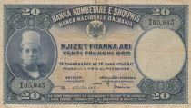 Albanie 20 Leke ND1926 - Jeune garçon, paysage - I 05943