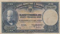 Albanie 20 Leke ND1926 - Jeune garçon, paysage - I 06229