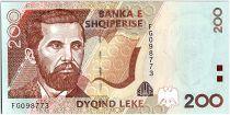 Albanie 200 Leké - Naim Frasheri (1846-1900) - 1996