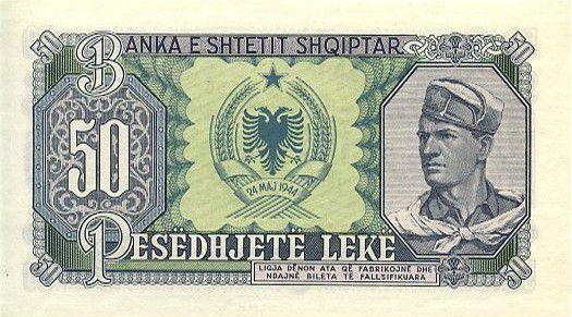 Albanie 50 Leké Skanderbeg - Soldat