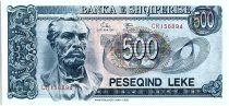 Albanie 500 Leké - Naim FRASHERI (1846-1900) - 1992