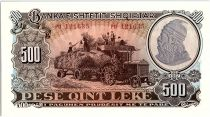 Albanie 500 Leké Moisson, Paysanne - 1957