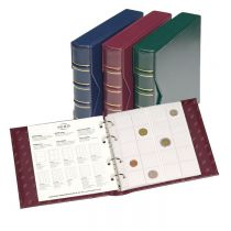 Album with slipcase incl. 5 different pockets