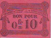 Algeria 10 cent. Constantine