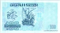 Algeria 100 Dinars - Army charging - 1992