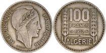 Algeria 100 Francs French Republic - Turin 1952